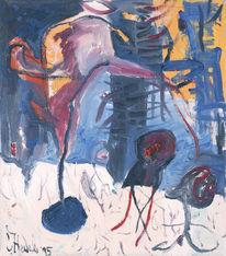 Malerei, Waldrand