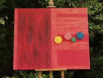 Acrylmalerei, Modellgips, Kunsthandwerk