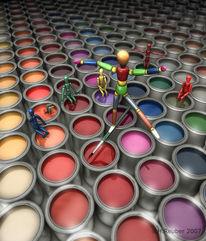 Farben, Digitale kunst,