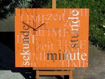 Wanduhr, Minute, Sekunde, Zeit