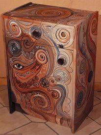 Farben, Möbel, Schrank, Design