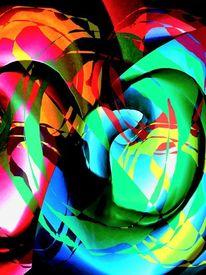 Popart, Grün, Rot, Ausstellung
