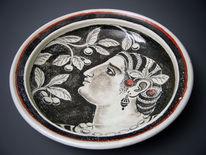 Keramik, Teller, Fayence, Töpferei