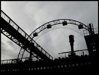 Industrie, Zeche, Zollverein, Schwarz weiß