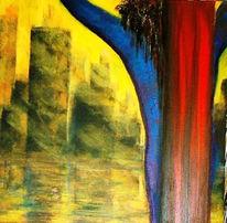 Malerei, Surreal, Stadt