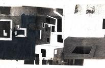 Surreal, Schwarzweiß, Traum, Architektur