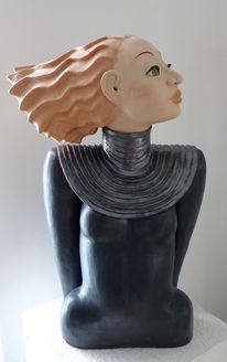 Figur, Keramik, Keramikkunst, Plastik