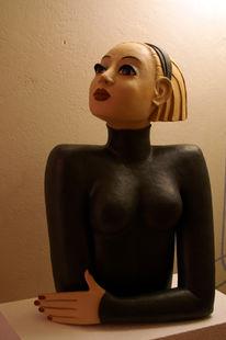 Figur, Keramik, Plastik, Figural