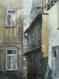 Gasse, Stadtansichten, Wetzlar, Altstadt