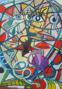 Ölmalerei, Malerei, Abstrakt, Liebe