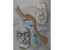 Malerei, Maske, Realität