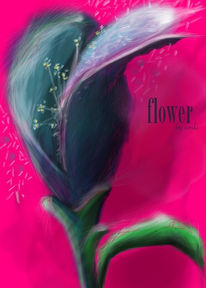 Malen, Blumen, Digitale kunst, Pflanzen