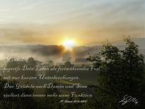 Morgen, Sprüche, Dasein, Nebel