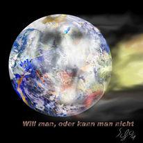 Schrei, Welt, Taub, Erde