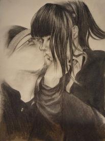Zeichnungen, Portrait, Prima