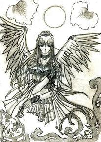 Melancholie, Engel, Freiheit, Gedanken