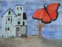 Geisterhaus, Vergänglichkeit, Leben, Vanitas