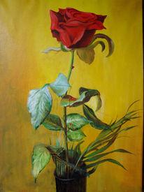 Rose, Malerei, Blumen, Blut