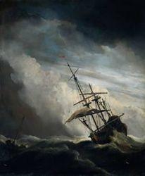 Arbeiten, Malerei, Schiff,
