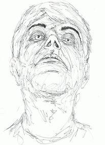 Portrait, Zeichnungen, Wahnsinn