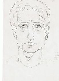 Portrait, Skizze, Zeichnungen