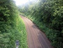 Schiene, Bahn, Brücke, Fotografie