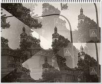 Zeit, Stadt, Gebäude, Fotografie