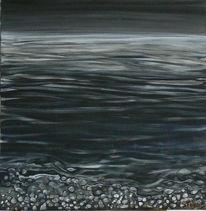 Ammersee, Nacht, See, Malerei