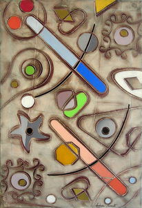 Guttuso, Altamira, Chirico, Malerei