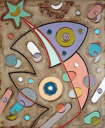 Dalì, Klimt, Kandinsky, Malerei