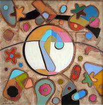 Kandinsky, Mirò, Neo, Gemälde