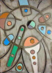 Chirico, Klee, Modigliani, Ölmalerei