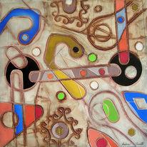 Cascella, Altamira, Klimt, Malerei