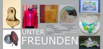 Ausstellung, Kunsthandwerk, Einladung, München