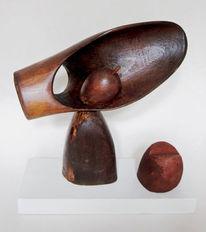 Holz, 2017, Objekt, Plastik