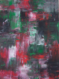Malerei, Abstrakt, Großstadt