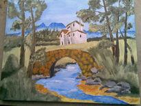 Ölmalerei, Toskana, Malerei