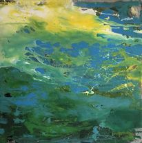 Kreis, Modern art, Malerei, Farben