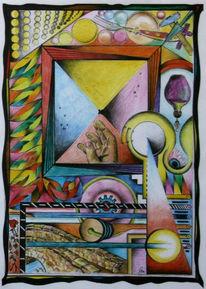 1980, Symbolismus, Zeitspiegel, Hand