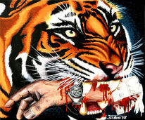 Umwelt, Tiger, Sieger, Natur