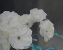Blumen, Stillleben, Rose, Zeichnungen