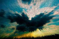 Farben, Wolken, Himmel, Kühl