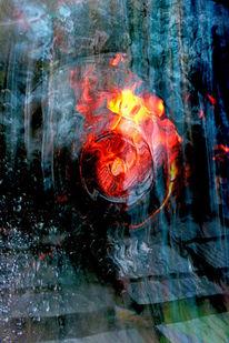 Glas, Licht, Feuer, Überdachung
