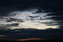 Baum, Wolken, Himmel, Haus