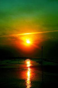 Licht, Salz, Früh, Strand