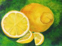 Ölmalerei, Erfrischend, Küche, Sauer