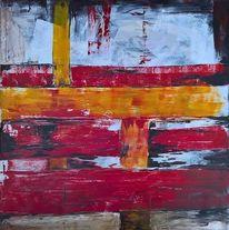 Acrylmalerei, Unendlichkeit, Handgemaltes, Abstrakt