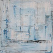 Malerei, Abstrakt, Stunde, 2009