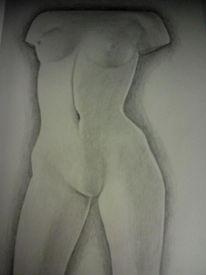 Schwarz weiß, Body woman, Körper, Frau