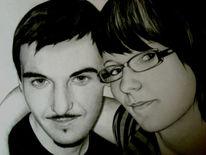 Schwarz weiß, Gesicht, Portrait, Zeichnungen
